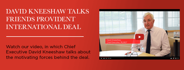 Watch our video, in which Chief Executive David Kneeshaw talks about the motivating forces behind the deal.