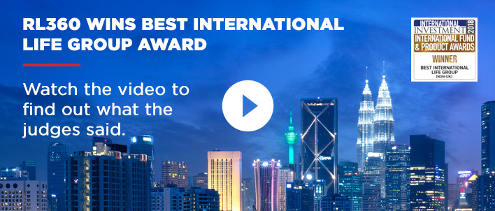 RL360 wins best international life group award - watch the video