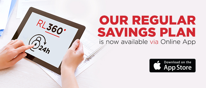 Our Regular Savings Plan is now available via online app