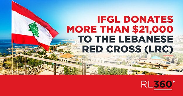 IFGL donates more than $21,000 to the Lebanese Red Cross (LRC)