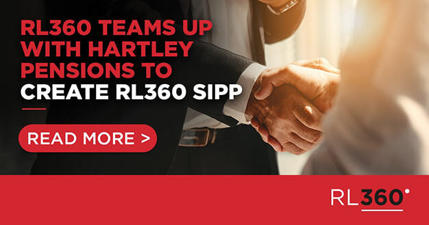 RL360 teams up with Hartley Pensions to create RL360 SIPP
