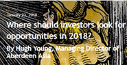 Where should investors look for opportunities in 2018?