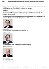 Image of PDF Investec's Views: UK General Election