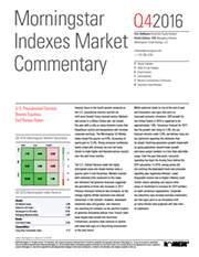 Morningstar Indexes Market Commentary Q4 2016