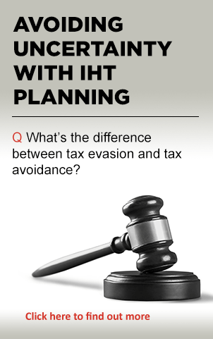 Download the Avoiding unvertainty with IHT planning
